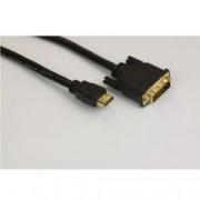 Кабел VCom CG481G, от DVI(м) към HDMI(м), 1.8м, черен