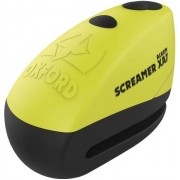 Oxford Screamer XA7 Alarm Disco de bloqueo Amarillo un tamaño