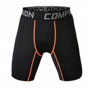 Pantalones cortos de la aptitud de los deportes de los hombres multi-funcionales al aire libre - naranja (xxl)
