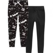 River Island Boys Black 'Break The Rules' pyjama bottoms - Size 3 - 4
