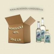 Kartón - Borovička 10x1L 40%