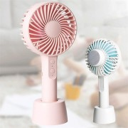 Mini Portable Wireless Rechargeable Bluetooth Speaker USB Air Conditioner Purifier Desk Fan