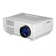 VS311 Mini Projector 150 Lumens LED 480x320 SVGA Multimedia Video Projector Support HDMI / SD / USB / VGA / AV / TV Interfaces Projecting Distance: 1-5m(White)