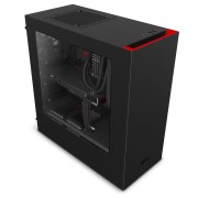 NZXT S340 Black and Red
