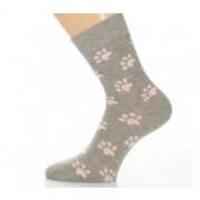 Gyerek zokni -Rózsaszín mancsok 35-36