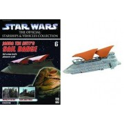 Star Wars Starships &Vehicles Collection #6 Jabba the Hutts Sail Barge