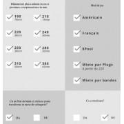 Masa de biliard Toulet Empereur Luxe 8ft