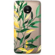 Motorola Moto E4 Plus Hoesje Watercolor Flowers