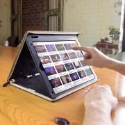 TwelveSouth BookBook V2 - уникален кожен калъф за iPad Pro 12.9 (кафяв)