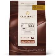 Ciocolata cu Lapte 33,6% Recipe 823, 2,5 Kg, Callebaut