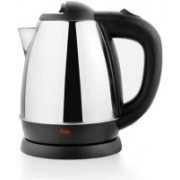 Mezire Cordless Stainless Steel Tea Heater with Auto Shut Off & Boil Dry Protection Electric Kettle (kettle RC-1008) Electric Kettle Electric Kettle(1.8 L, Silver)