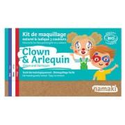 NAMAKI Kit maquillage bio 3 couleurs - Clown et Arlequin