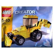 Lego (Lego) Creator Bagged Set # 7875 Backhoe block toy (parallel import)
