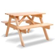 Keezi Kids Wooden Picnic Bench Set [ODF-KID-PICNIC-NW]