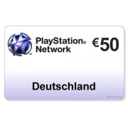 Sony (DE) PlayStation Network PSN Card 50EUR