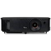 Videoproiector Optoma W340, 3400 lumeni, 1280 x 800, Contrast 20000:1, Full 3D, HDMI (Negru)