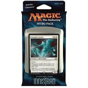 Magic the Gathering MTG Shadows over Innistrad Intro Pack Theme Deck Ghostly Tide includes 2 Booster Packs Alternate Art Premium Rare Promo White Blue - Drogskol Cavalry