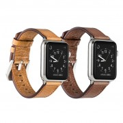 Genuine Leather iWatch Band Loop Apple Watch Series 1 2 3 Sports Strap