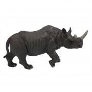 Geen Plastic neushoorns grijs12 cm