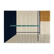Miliboo Teppich mit mehrfarbigen Motiven 160 x 230 cm MONDRIAN