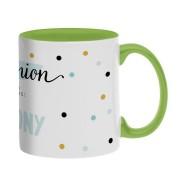 YourSurprise Mug personnalisé texte - Vert