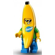 Lego Minifigures Series 16 - BANANA GUY Minifigure - (Bagged) 71013