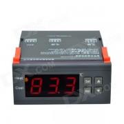 """""""CHEERLINK MH-1210A Controlador de temperatura digital inteligente de pantalla de 1.7"""""""" - Negro (AC 110V)"""""""