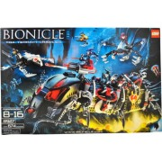 Lego Year 2007 Bionicle Series Set # 8927 - TOA TERRAIN CRAWLER with Cordak Blaster, Sea Squids, Solidified Air Spheres, Glow-in-the-Dark Jellyfish, 6 Miniature Toa Mahri and 4 Miniature Barraki Figures (Total Pieces: 674)