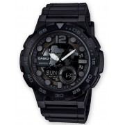 Ceas barbatesc Casio AEQ-100W-1BVEF Collection 48mm 10ATM