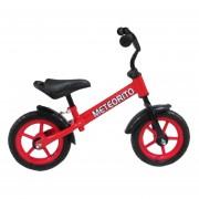 Bicicleta Infantil Sin Pedal Equilibrio Aprendizaje - Rojo