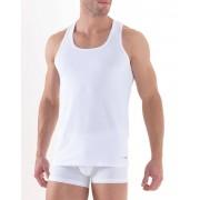 BlackSpade распродажа Удобная мужская майка-борцовка белого цвета из хлопка BlackSpade TENDER COTTON b9236 белый распродажа