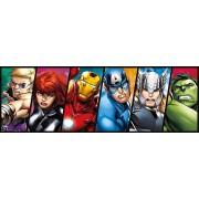 Puzzle Clementoni - Marvel Avengers, 1.000 piese (62419)