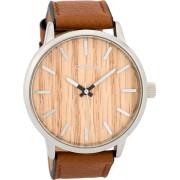 OOZOO Timepieces Horloge Cognac/Pine C9256