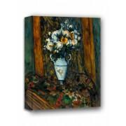 Vase of Flowers, Paul Cézanne - obraz na płótnie