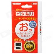 GOiGAME Claro Protectores de pantalla Guardia Set para Nintendo 3DS XL