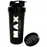 Coqueteleira Max Titanium Preta 600ml
