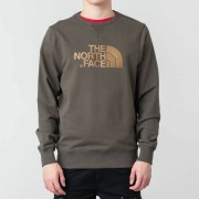 The North Face Drew Peak Crew New Taupe Green