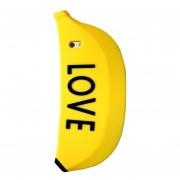 Funda De Silicón Jyx Accesorios Samsung Galaxy S6 Banana Love - Amarillo