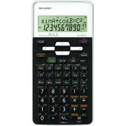 Calculator stiintific, 12 digits, 273 functiuni, 161x80x15 mm, SHARP EL-531THBWH - negru/alb