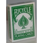 Magic Makers Bicycle Deck Reverse Green