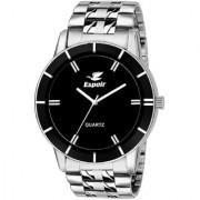 Espoir Analog Stainless Steel Black Dial Men's Boy's Watch - Bahu-Sam0507