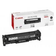 Canon Cartucho de tóner Original CANON 718 Negro para i-SENSYS LBP7210, LBP7680, MF728, MF729, MF8340, MF8360, MF8380, MF8540, MF8550, MF8580