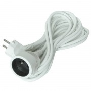 SOLIGHT Prodlužovací kabel 230V/10A - 10m, 1 zásuvka, 3 x 1mm, IP20, bílý