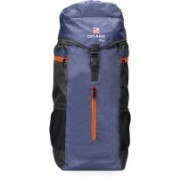 Chris & Kate Travel Backpack-Trekking Backpacks-Camping Daypack Bag- Rucksack - 50 L(Blue, Black)