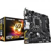 GIGABYTE H370M DS3H (rev. 1.0), socket 1151 moederbord RAID, Gb-LAN, Sound, µATX