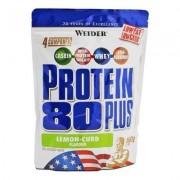 Weider Protein 80 Plus Lemon-Curd 500g