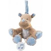 Jucarie muzicala din plus Rinocerul Louis 18 cm