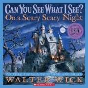On a Scary Scary Night: Picture Puzzles to Search and Solve, Hardcover