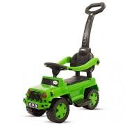 GoodLuck Baybee Baby Boy's & Baby Girl's Power Wheel Ride on Push Car Jeep (Green, 1-3 Years)