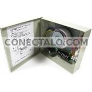 Fuente de alimentación de 8 puertos de 12VDC 24VDC 4A no regulada B